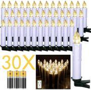 LED Kerzen 30 Stück mit
