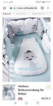 Wolke Bettumrandung für Babys