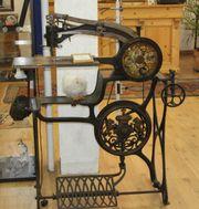 Historische Schusternähmaschine - schönes Dekostück