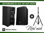Aktivboxen EV ZLX 12P auf