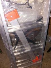 Aluminium Leiter 3 Fach 3x6