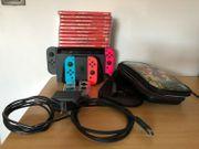 Nintendo Switch Mit Diversen Artikeln