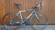 Rennrad mit Gangschaltung