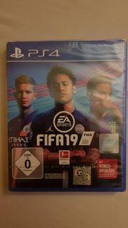 PS4 FIFA 19 versiegelt nagelneue
