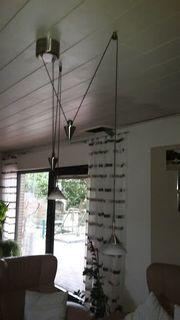 2 strahlige Wohnzimmerlampe