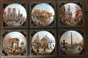 Teller-Serie Ansichten von Paris