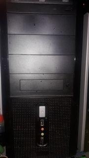 PC Computer mit Tastatur und