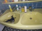 Doppel-Waschtisch für Bad