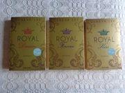 4 Bücher Die Royals-Saga Band