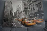Leinwand Bild Foto 70x50cm Taxis