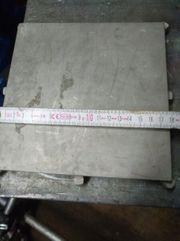 Edelstahl Platten 180x180x10