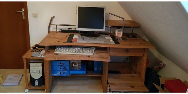Schreibtisch Kiefer geölt
