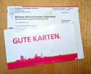 2x Karten Münchner Weihnachtssingen 15