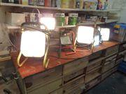 Bauscheinwerfer Baustellenlampen