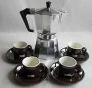 Pezzetti Espressokocher Italexpress incl 4