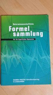 Naturwissenschaftliche Formelsammlung für die bayerischen