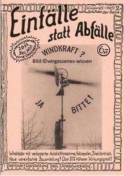 Windkraft ja bitte Windräder selbst