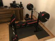 Fitness Hantelbank station mit 130kg