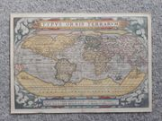 Weltkarte Typus Orbis Terrarum von