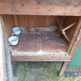Zubehör für Haustiere - Hasenstall Kaninchenstall Holzstall stabil ca