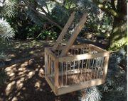 Vogelfalle Bird Trap Schlag Lebendfalle