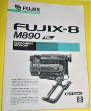 FUJIX-8 M890 Bedienungs-Anleitung auch f
