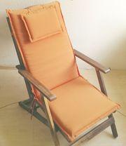 4 Sitzauflagen für hohe Gartenstühle