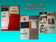 20 Notenbücher Klassische Klaviermusik Bach