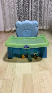 Chicco Kindersitzerhöhung Mr Party Blau