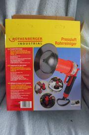 ROTHENBERGER Industrial Pressluft Rohrreiniger