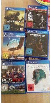 PS 4 Spiele einzeln oder
