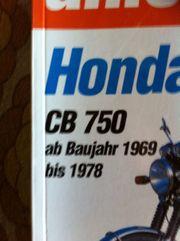 Honda CB 750 Reparaturanleitung