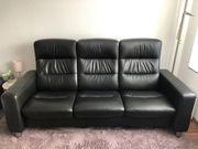 Stressless Ledersofa Couch 3-Sitzer