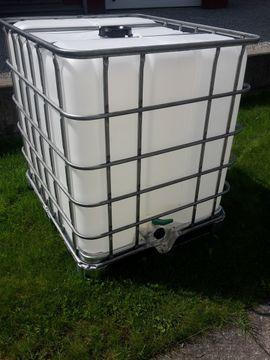 Sonstiges für den Garten, Balkon, Terrasse - 1000 liter Wassertank neuwertig Original