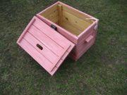 Holzkiste mit Deckel Kiste aus