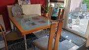 Esszimmertisch mit 4 Stühlen