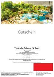 Tropical Island Gutschein 250 Euro