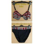 Bikini Bandeau neu mit Etikett