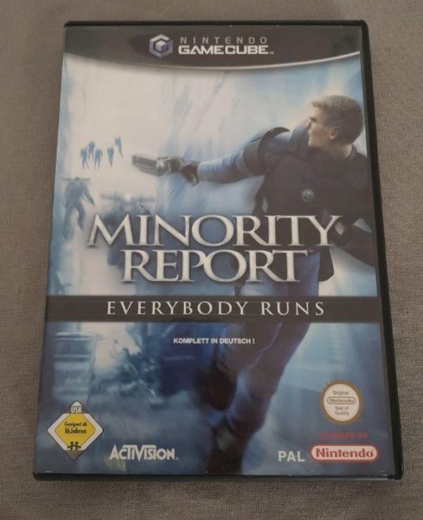 Minority Report Nintendo GameCube 2002