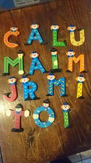 Buchstaben Kinderzimmer ca 10cm hoch