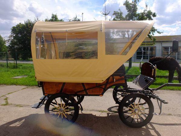 Planwagen neu für Kleinpferde Einspänner
