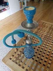 Schöne türkise Shisha Hookah Wasserpfeife