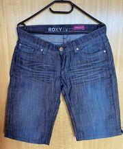 Roxy Damenjeans Shorts Bermuda dunkelblau