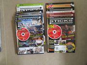 95 DrumHeads und Sticks Magazine