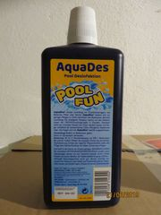 Poolmittel AquaDes von Söll für