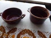 Keramiksuppentassen Hausrat feuerfestes Geschirr Bunzlau
