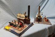 2 Stück Wilesco Dampfmaschine Sammler
