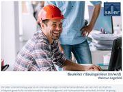 Bauleiter Bauingenieur m w d