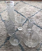 Kristallvasen Schalen