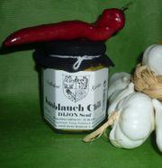 Dijon Knoblauch Chili Senf 180ml